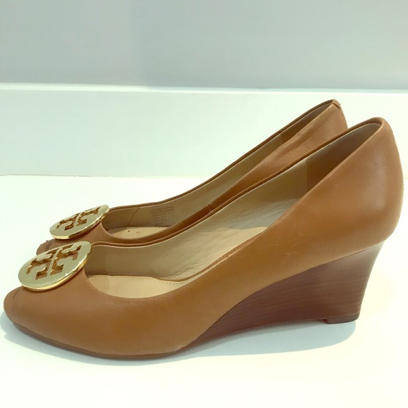 38230cf8063 Tory Burch Sally 2  Peep Toe Wedge Pump. M 5b044ed28af1c5d5dc127c76